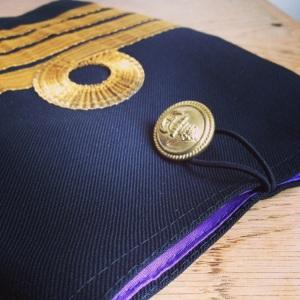 Detail naval sleeve ipad cover